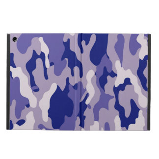 Blue Camouflage Camo texture Case For iPad Air