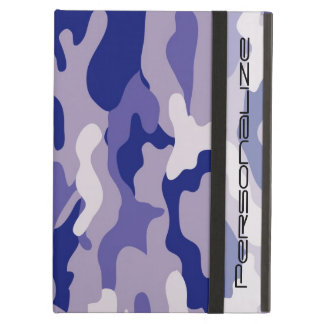 Blue Camouflage Camo texture iPad Air Case