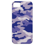 Blue Camouflage Camo texture iPhone 5/5S Case