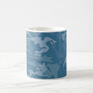 Blue Camouflage CUP Mugs