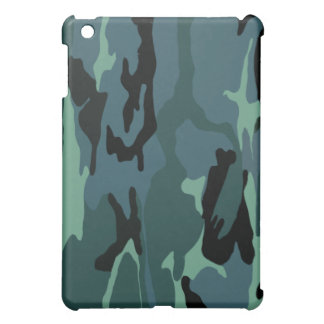 Blue Camouflage iPad Mini Cases