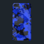 "Blue Camouflage iPod Touch Case<br><div class=""desc"">Blue Camouflage iPod Touch Case</div>"