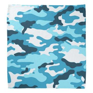 Blue camouflage Pattern Bandana