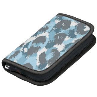 Blue Camouflage Pattern Organizer