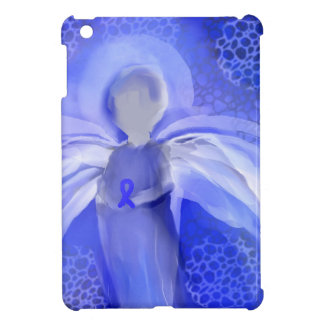 Blue Cancer Awareness Angel Case For The iPad Mini