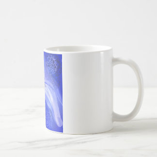 Blue Cancer Awareness Angel Coffee Mug