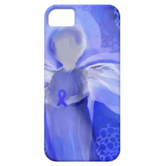 Blue Cancer Awareness Angel iPhone SE/5/5s Case