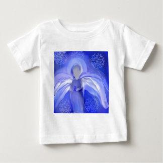 Blue Cancer Awareness Angel Shirt