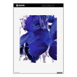 Blue Canna Lily Decals For iPad 2