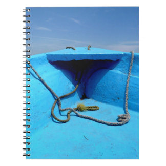 Blue Canoe with Rope Notebook