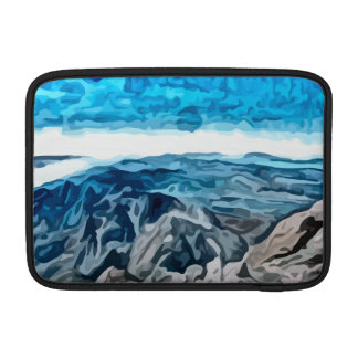Blue canyon painting sleeves for MacBook air