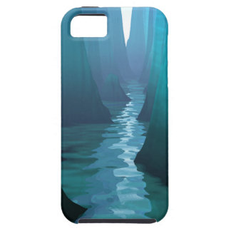 Blue Canyon River iPhone SE/5/5s Case