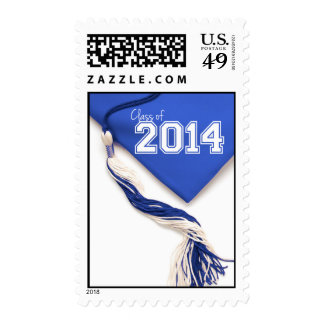 Blue Cap Class of 2014 Postage