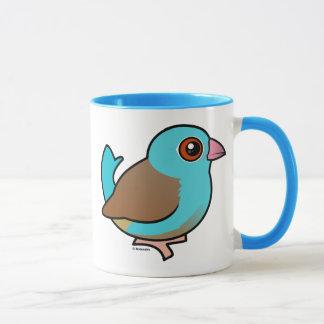 Blue-capped Cordonbleu Mug