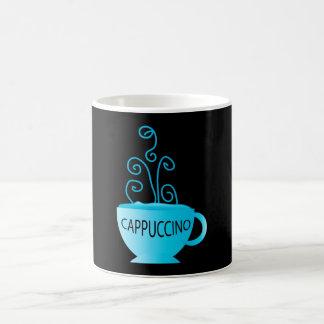 Blue Cappuccino Delight Coffee Mug
