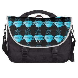 Blue Cappuccino Delight Laptop Bags