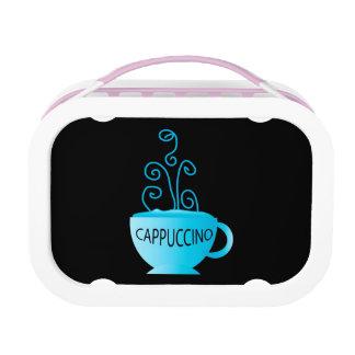 Blue Cappuccino Delight Lunch Box