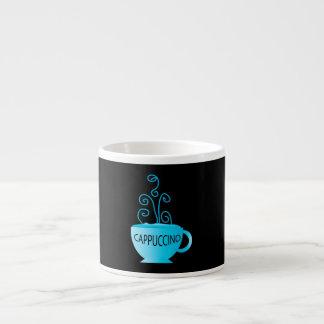 Blue Cappuccino Delight Espresso Mug