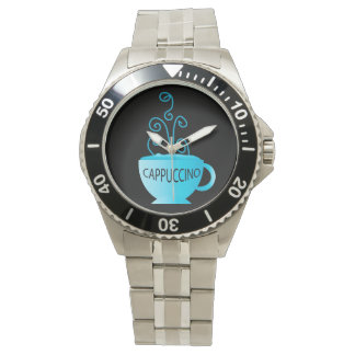 Blue Cappuccino Delight Wrist Watch