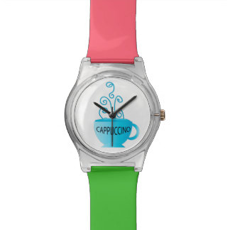 Blue Cappuccino Delight Wristwatch