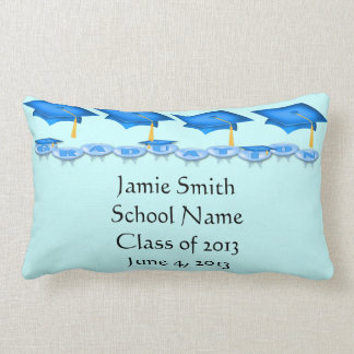Blue Caps Tassel Worth the Hassel Lumbar Pillow