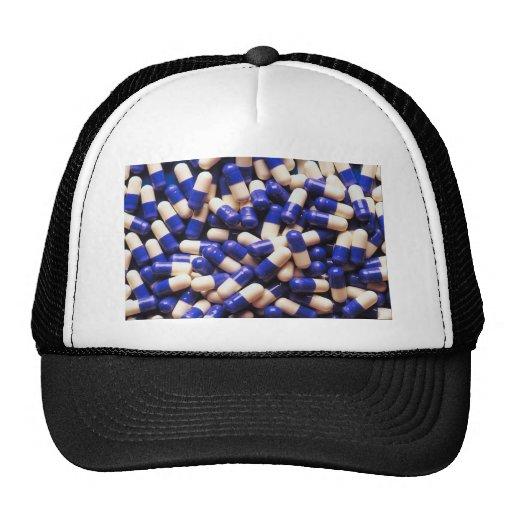 Blue caps trucker hat