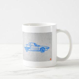 Blue Car Coffee Mug