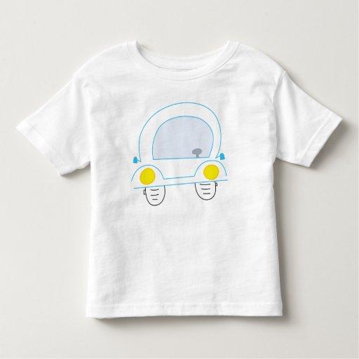 blue_car toddler t-shirt