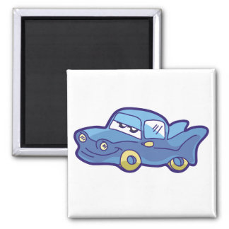Blue Car Tshirts and Gifts Magnet