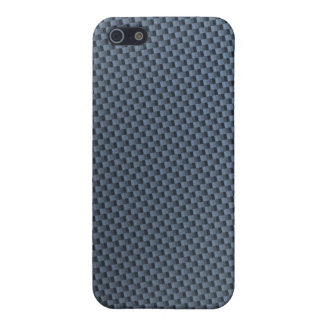 Blue Carbon Fiber iphone case Covers For iPhone 5