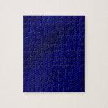 Blue Carbon Fiber Jigsaw Puzzle