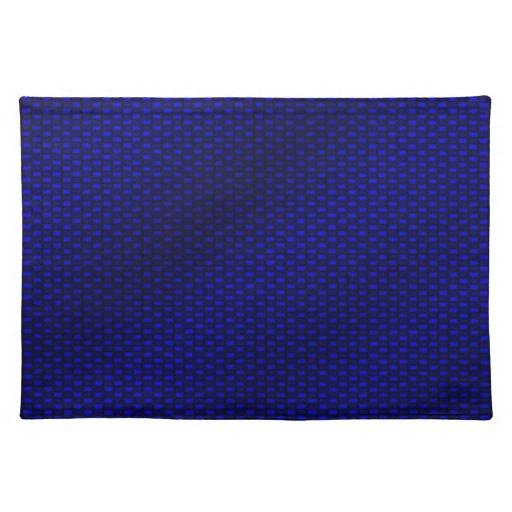 Blue Carbon Fiber Placemat