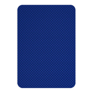 Blue Carbon Fiber Style Card