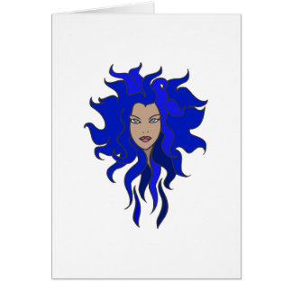 Blue Greeting Cards