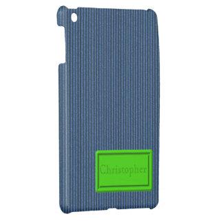 Blue Cardboard iPad Mini Case Template