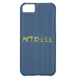 Blue Cardboard iPhone 5 Cover Template
