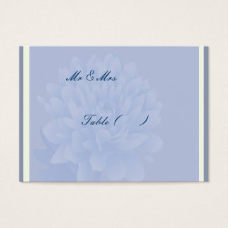 Blue Carnations Business Card