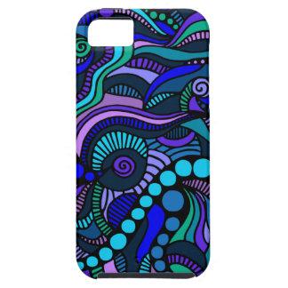 Blue Carnival Close Up iPhone Case iPhone 5 Case