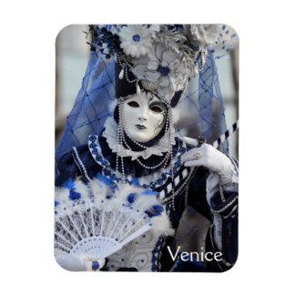 Blue Carnival Costume Magnet