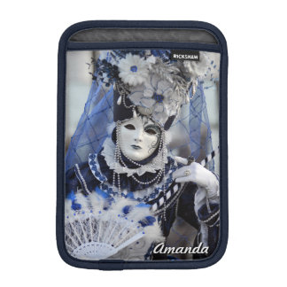 Blue Carnival Costume Sleeve For iPad Mini