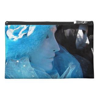Blue Carnivale Masquerade Travel Accessories Bag