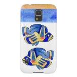 Blue Cartoon Butterfly Fish Samsung Galaxy Nexus Case
