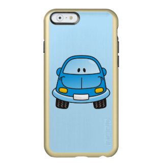 Blue cartoon car incipio feather shine iPhone 6 case