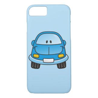 Blue cartoon car iPhone 7 case