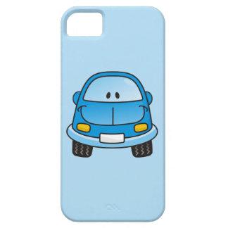 Blue cartoon car iPhone SE/5/5s case