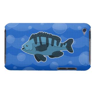 Blue Cartoon Fish iPod Touch Case