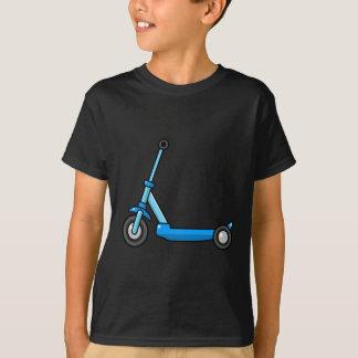 Blue Cartoon Kick/Push Scooter T-Shirt
