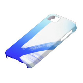 Blue case for refreshing feel iPhone 5 cover