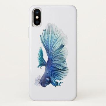 Blue iPhone X Case