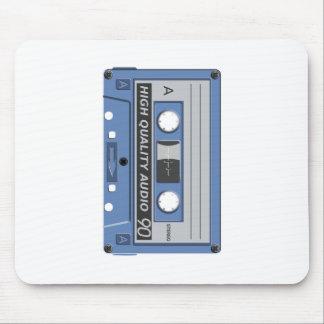 Blue Cassette Retro Mousepads